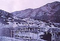 Commercial gardening in Cupeño Village near Warner Springs. Aqua Caliente Springs.