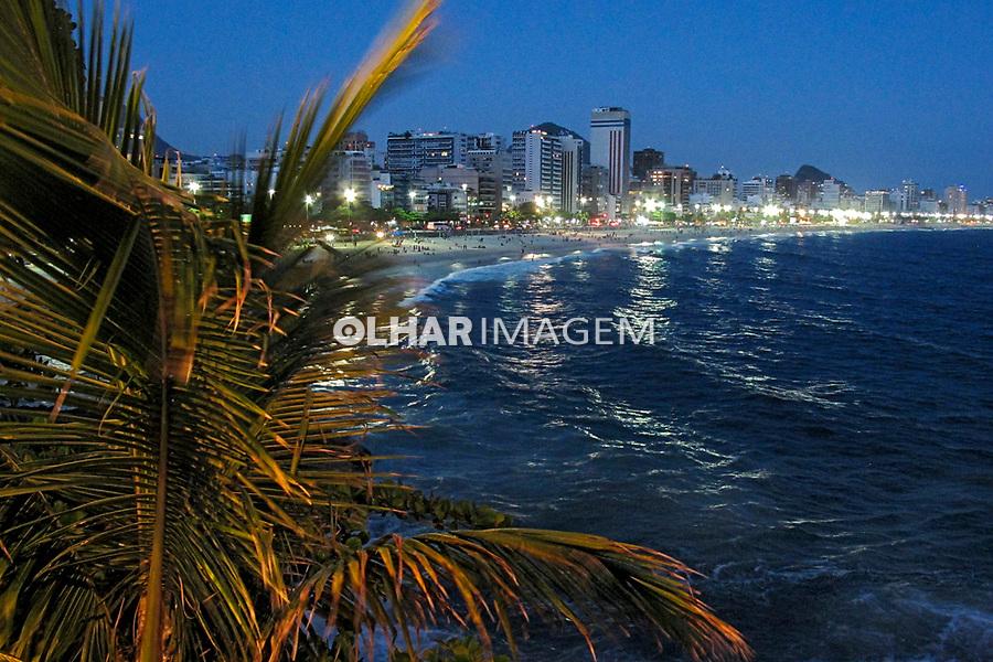 Praia do Leblon, Rio de Janeiro. 2019. Foto Luiza Lucchetti