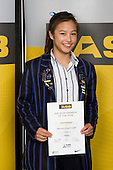 Girls Diving winner Jamie Rodriguez from Diocesan School for Girls. ASB College Sport Young Sportperson of the Year Awards 2008 held at Eden Park, Auckland, on Thursday November 13th, 2008.