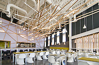 UCSD Bistro and Market, UCSD Village at Torrey Pines East, completed 2011. Detail of interior. Corinne Moody, Project Architect for Carrier Johnson + Culture.