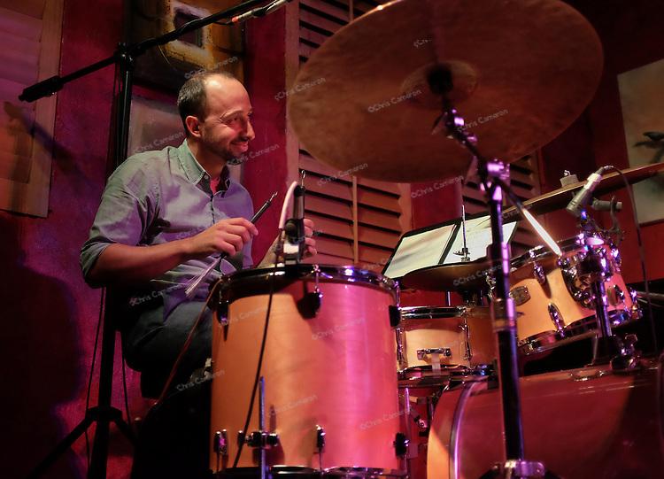 Harris Eisenstadt plays The IronWorks with his band Harris Eisenstadt's Golden State, June 28, 2014 TD Vancouver International Jazz Festival