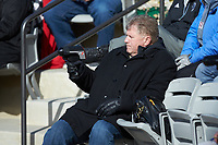 Chicago White Sox scout Kirk Champion takes in the NCAA baseball game between the Bellarmine Knights and the North Greenville Crusaders at Ashmore Park on February 7, 2020 in Tigerville, South Carolina. The Crusaders defeated the Knights 10-2. (Brian Westerholt/Four Seam Images)