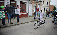 Gent-Wevelgem 2013.Philippe Gilbert (BEL) in the 2nd ascent of Cassel
