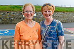Marie McEnery and Breda O'Connor attending the Pattern Day in Ballybunion on Saturday.