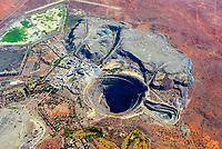 Diamantenmine Koffiefontain: AFRIKA, SÜDAFRIKA, FREE STATE, 11.01.2014: Diamantenmine Koffiefontain