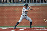 Corey Bird (4) of the Marshall Thundering Herd at bat against the Charlotte 49ers at Hayes Stadium on April 23, 2016 in Charlotte, North Carolina. The Thundering Herd defeated the 49ers 10-5.  (Brian Westerholt/Four Seam Images)