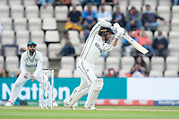Devon Conway, New Zealand drives through the covers during India vs New Zealand, ICC World Test Championship Final Cricket at The Hampshire Bowl on 20th June 2021