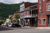 Hinton, West Virginia. 3rd Avenue Street Scene.
