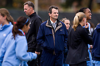 Anson Dorrance. UNC defeated Maryland, 1-0, during the regular season finale at College Park, Maryland.