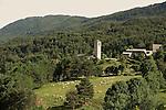Village de Fanlo.  .Pyrénées centrales. Parc national D'ordesa et du Mont Perdu. Patrimoine mondial de l'Unesco. Espagne.The Spanish Pyrenees. Spain.