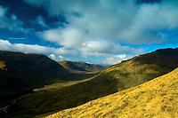 Inverlochlarig from Stob Invercarnaig, on an ascent of Stob Binnein, Loch Lomond and the Trossachs National Park