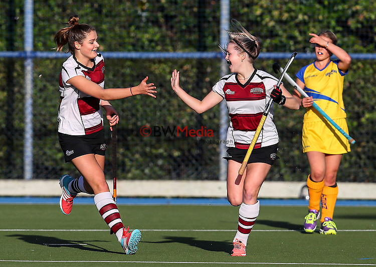 Action during the Women's National Under 21 Championships between North Harbour and Southern,  Lloyd Elsmore Park, Auckland, New Zealand. Saturday 6 May 2017. Photo:Simon Watts / www.bwmedia.co.nz