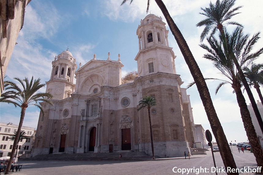 Spanien, Andalusien, Kathedrale in Cadiz