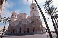 Spanien, Andalusien, Kathedrale in Cadiz