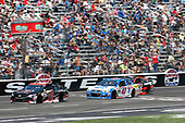 2017 Monster Energy NASCAR Cup Series<br /> O'Reilly Auto Parts 500<br /> Texas Motor Speedway, Fort Worth, TX USA<br /> Sunday 9 April 2017<br /> Matt Kenseth Toyota Let's Go Places Toyota Camry AJ Allmendinger<br /> World Copyright: Matthew T. Thacker/LAT Images<br /> ref: Digital Image 17TEX1mt1380