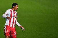 Luther Wildin of Stevenage F.C. during Stevenage vs MK Dons, EFL Trophy Football at the Lamex Stadium on 6th October 2020