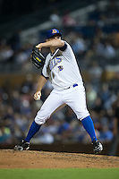 Durham Bulls relief pitcher Jim Miller (27) in action against the Scranton/Wilkes-Barre RailRiders at Durham Bulls Athletic Park on May 15, 2015 in Durham, North Carolina.  The RailRiders defeated the Bulls 8-4 in 11 innings.  (Brian Westerholt/Four Seam Images)