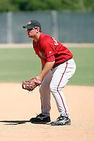 Paul Goldschmidt - Arizona Diamondbacks, 2009 Instructional League.Photo by:  Bill Mitchell/Four Seam Images..