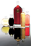 Assorted vinegars. Portfolio only
