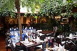 Interior, Table Setting, Blue Elephant Restaurant, Chelsea, London, Great Britain, Europe