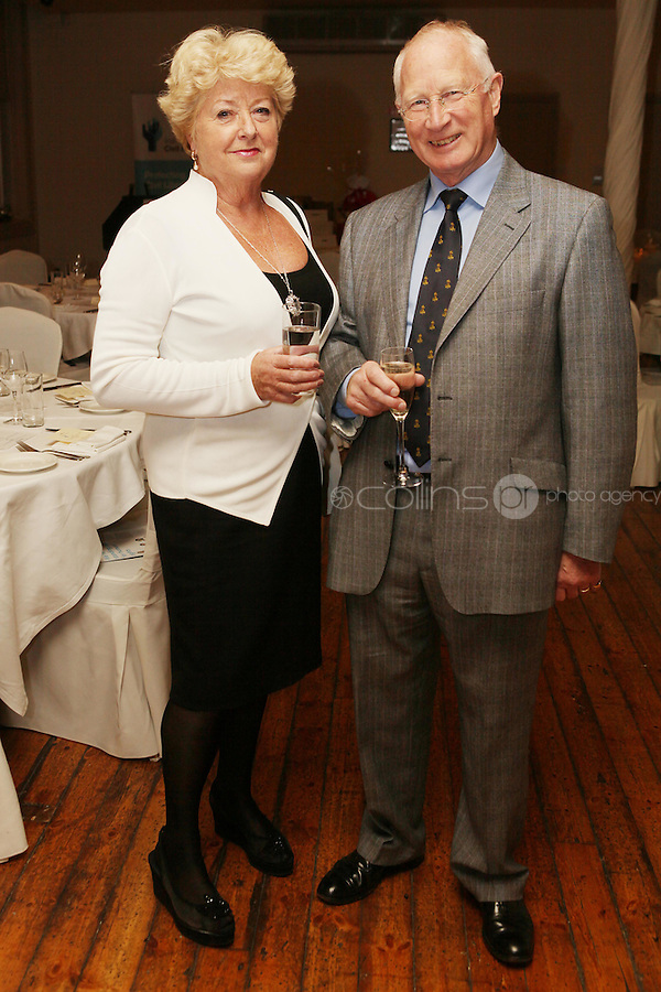 NO REPRO FEE. 23/11/2010. ICCL annual fundraising dinner. Pictured at Fallon and Byrnes, Dublin for the ICCL's fundraising dinner for legal practitioners were Sile O Kelly Merrick and Robin Merrick . Picture James Horan/Collins Photos