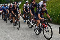 5th June 2021; La Plagne, Tarentaise, France;  PORTE Richie (AUS) of INEOS GRENADIERS during stage 7 of the 73th edition of the 2021 Criterium du Dauphine Libere cycling race, a stage of 171km with start in Saint-Martin-Le-Vinoux and finish in La Plagne