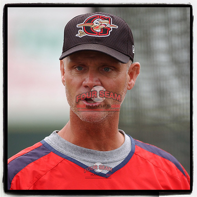 #OTD On This Day, June 3, 2005, Bob Kipper was pitching coach of the Greenville Bombers in a game at Greenville Municipal Stadium, Greenville, South Carolina. Kipper returned in 2008–09 (when the team was renamed the Drive) and again in 2018 and remains 2020 pitching coach. (Tom Priddy/Four Seam Images) #MiLB #OnThisDay #MissingBaseball #nobaseball #stayathome #minorleagues #minorleaguebaseball #Baseball #SallyLeague #AloneTogether
