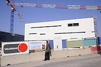 - Marsiglia, cantiere edile del nuovo centro congressi Centre régional de la Méditerranée<br /> <br /> - Marseille, building site of the new convention center Centre régional de la Méditerranée