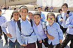 School Group, The Western Wall, Jerusalem