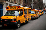 school bus drivers going to strike for job security in New York