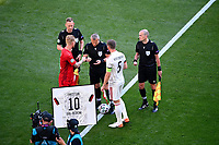 COPENHAGEN, DENMARK - JUNE 17 : Match kick off Jan Vertonghen defender of Belgium during the 16th UEFA Euro 2020 Championship Group B match between Denmark and Belgium on June 17, 2021 in Copenhagen, Denmark, 17/06/2021  <br /> Photo Photonews / Panoramic / Insidefoto <br /> ITALY ONLY