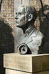 Lutterworth Leicestershire. Sir Frank Whittle inventor of the jet engine.