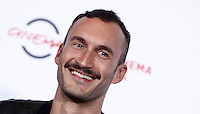 "Il regista francese Sébastien Marnier posa durante un photocall per la presentazione del film ""Irréprochable"" al Festival Internazionale del Film di Roma, 17 ottobre 2016.<br /> French director Sébastien Marnier poses for a photocall to present the movie ""Irréprochable"" during the international Rome Film Festival at Rome's Auditorium, 17 October 2016.<br /> UPDATE IMAGES PRESS/Isabella Bonotto"