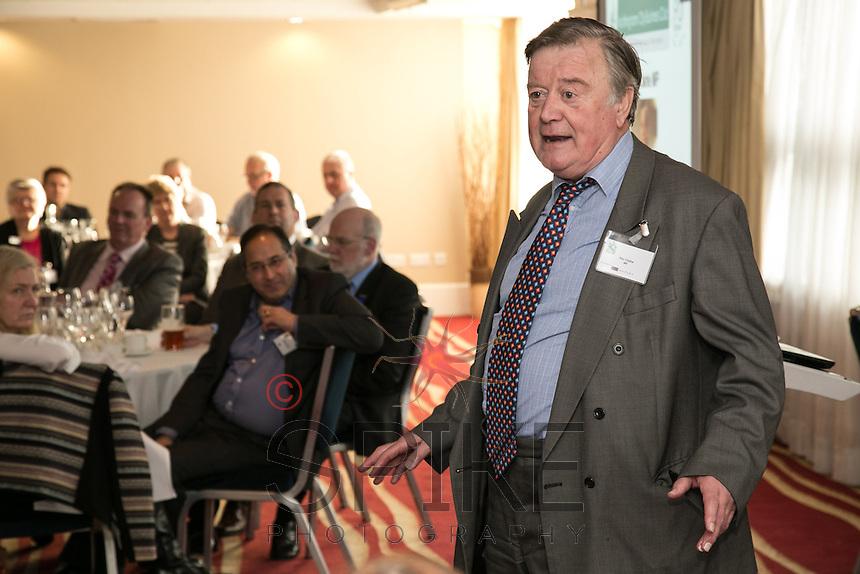 Keynote speaker Ken Clarke MP talks about Nottingham and the economy