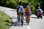 Kazakh Champion Alexey Lutsenko (KAZ) Astana and Olympic Champion Greg Van Avermaet (BEL) CCC Team lead the breakaway during Stage 6 of Tour de France 2020, running 191km from Le Teil to Mont Aigoual, France. 3rd September 2020.<br /> Picture: ASO/Pauline Ballet   Cyclefile<br /> All photos usage must carry mandatory copyright credit (© Cyclefile   ASO/Pauline Ballet)