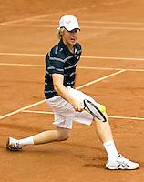 13-08-11, Tennis, Hillegom, Nationale Jeugd Kampioenschappen, NJK, Jelle Sels