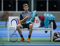 Hilversum, Netherlands, December 4, 2016, Winter Youth Circuit Masters, Niels Visker (NED)<br /> Photo: Tennisimages/Henk Koster