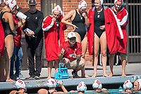 Los Angeles, Ca. - The 2018 NCAA Women's Water Polo Championship. The Stanford Cardinal vs the USC Trojans at the USC Uytengsu Aquatic Center, Final score, Stanford 4, USC 5.