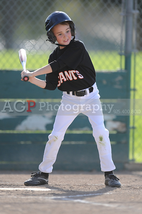 The A Giants of Pleasanton National Little League  March 28, 2009.