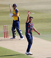 Grant Stewart appeals for Kent during Kent Spitfires vs Essex Eagles, Vitality Blast T20 Cricket at The Spitfire Ground on 18th September 2020
