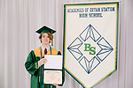 Barnes, Hayden  received their diploma at Bryan Station High school on  Thursday June 4, 2020  in Lexington, Ky. Photo by Mark Mahan Mahan Multimedia