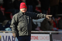 Hornchurch Chairman Colin McBride - AFC Hornchurch vs Bromley - Blue Square Conference South Football at The Stadium, Upminster Bridge, Essex - 01/04/13 - MANDATORY CREDIT: Gavin Ellis/TGSPHOTO - Self billing applies where appropriate - 0845 094 6026 - contact@tgsphoto.co.uk - NO UNPAID USE.