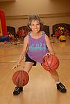 Senior Olympian Lorelei de la Reza practices at The Houston Thursday Aug. 14,2008.(Dave Rossman/For the Chronicle)