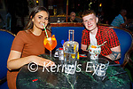 Enjoying the evening in Benners on Friday, l to r: Roisin Downey and Cain Bradley.