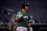 Daytona Tortugas Jose Garcia (13) at bat during a Florida State League game against the Tampa Tarpons on May 17, 2019 at George M. Steinbrenner Field in Tampa, Florida.  Daytona defeated Tampa 8-6.  (Mike Janes/Four Seam Images)