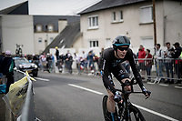 Nils Eekhof (NED/DSM)<br /> <br /> Stage 5 (ITT): Time Trial from Changé to Laval Espace Mayenne (27.2km)<br /> 108th Tour de France 2021 (2.UWT)<br /> <br /> ©kramon
