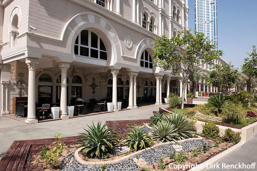 Vereinigte arabische Emirate (VAE), Sharja, Restaurant Shababeek am Kanal Qanat al-Qasba