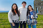 Enjoying a stroll in Ballybunion on Saturday, l to r: Katie and John O'Connor and Denise Culloty.