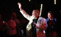 """Der britische Schlagersänger Roger Whittaker gastiert während seiner Tour am 06.05.2011 in der Arena Leipzig. Der Anlass für die Tour ist sein 75. Geburtstag. Der Sänger bedankt sich bei seinen Fans mit dem Motto """"Vielen Dank für so viele Jahre mit euch"""".  .Foto: Christian NitscheDer britische Schlagersänger Roger Whittaker gastiert während seiner Tour am 06.05.2011 in der Arena Leipzig. Der Anlass für die Tour ist sein 75. Geburtstag. Der Sänger bedankt sich bei seinen Fans mit dem Motto """"Vielen Dank für so viele Jahre mit euch"""".  .Foto: aif / Christian Nitsche.  Jegliche kommerzielle Nutzung ist honorar- und mehrwertsteuerpflichtig! Persönlichkeitsrechte sind zu wahren. Es wird keine Haftung übernommen bei Verletzung von Rechten Dritter. Autoren-Nennung gem. §13 UrhGes. wird verlangt. Weitergabe an Dritte nur nach vorheriger Absprache."""