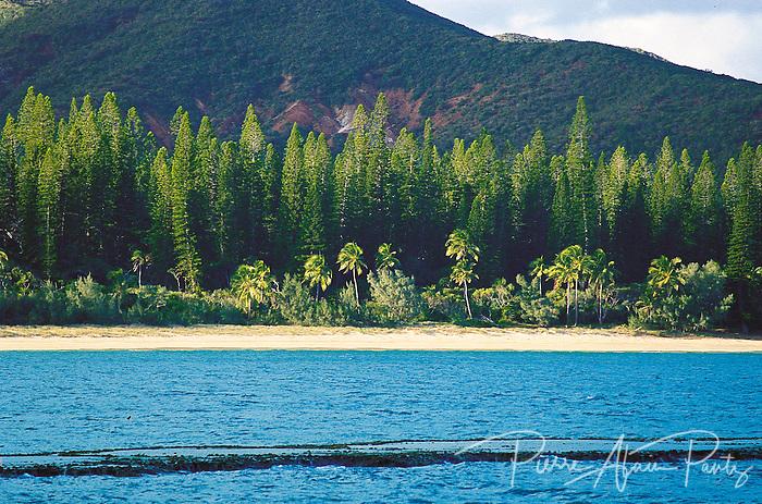 ile des pins, longue plage